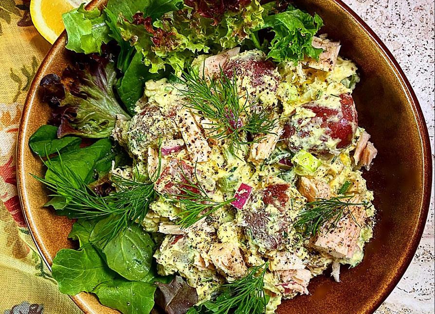 Beverly Hills Tuna Potato Salad
