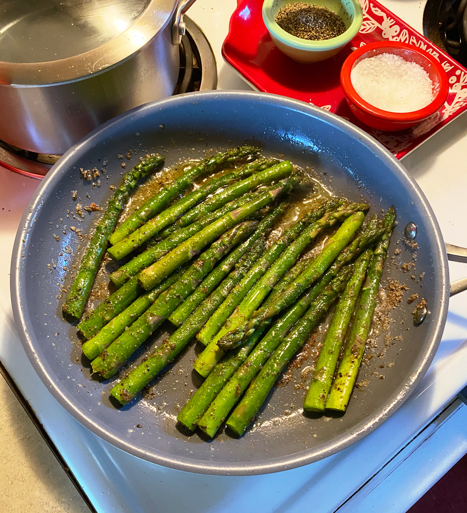 Asparagus and Provolone Melts