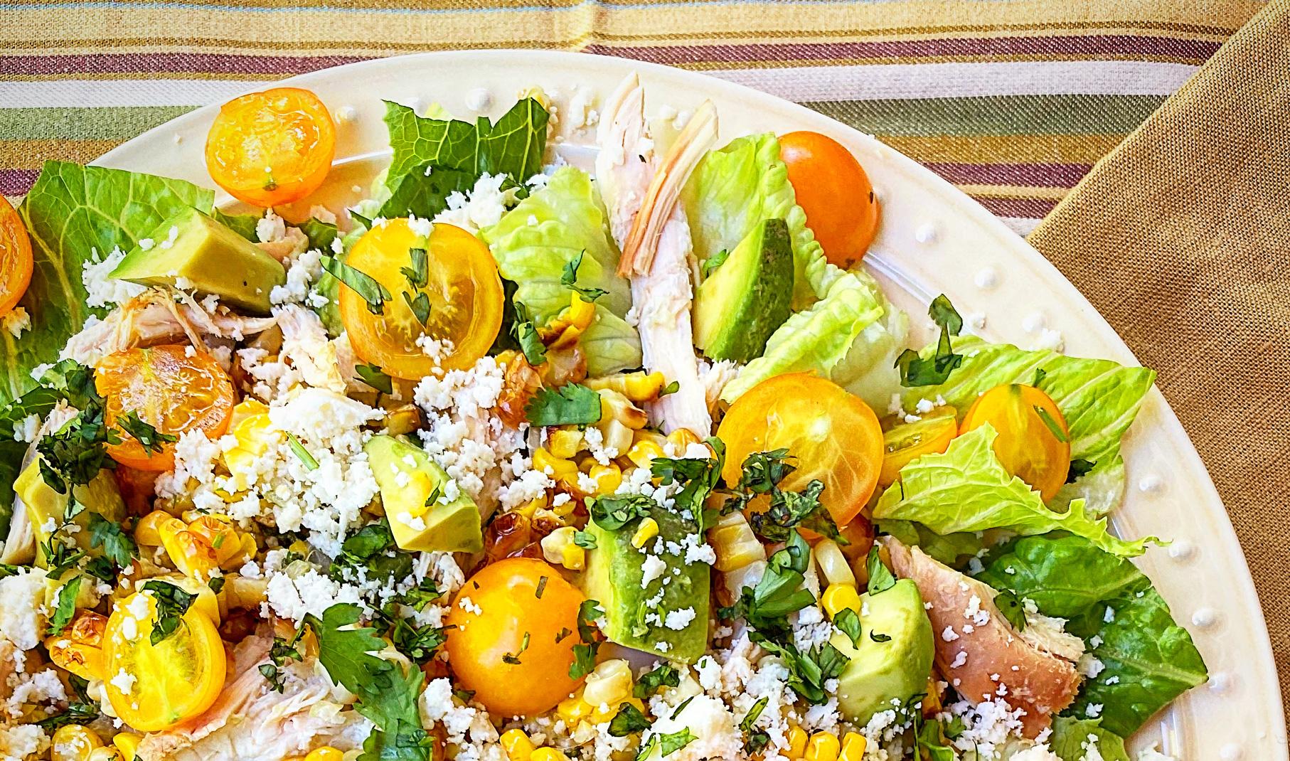Grilled Elotes Salad